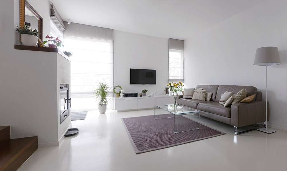 Pu gietvloeren ideaal voor een modern interieur evigt